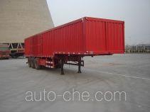 Jijun HJT9408XXY box body van trailer