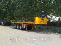 Zhongle HJY9401ZZXPH flatbed dump trailer