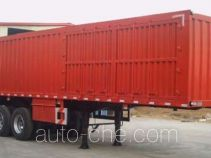 Zhongle HJY9403XXY box body van trailer