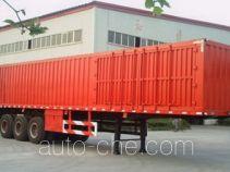 Zhongle HJY9404XXY box body van trailer