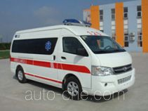 大马牌HKL5030XJHE4型救护车