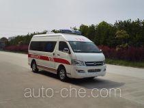 大马牌HKL5041XJHCE型救护车