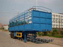 汇联牌HLC9190CXY型仓栅式运输半挂车