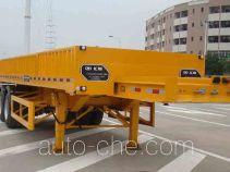 汇联牌HLC9290ZZX型自卸半挂车