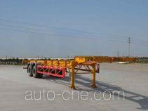 汇联牌HLC9350TJZ型集装箱运输半挂车
