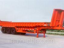 汇联牌HLC9380ZZX型自卸半挂车
