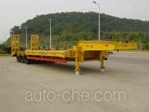 汇联牌HLC9400TDP型低平板半挂车