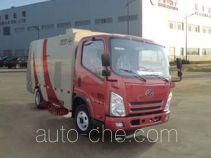 Heilongjiang HLJ5070TSLBEV electric street sweeper truck