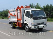 Danling docking garbage compactor truck