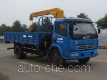 丹凌牌HLL5090JSQ型随车起重运输车