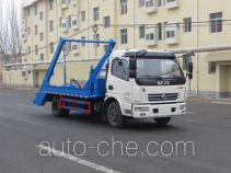 丹凌牌HLL5110ZBSE5型摆臂式垃圾车