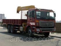 丹凌牌HLL5250JSQ型随车起重运输车
