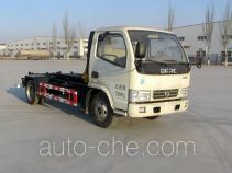 Ningqi HLN5070ZXXD4 detachable body garbage truck
