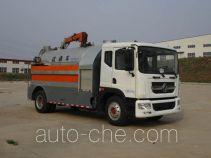 Ningqi HLN5161GQXD4 sewer flusher truck