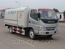 Heli Shenhu HLQ5062TQX highway guardrail cleaner truck