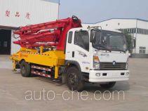神狐牌HLQ5160THB型混凝土泵车