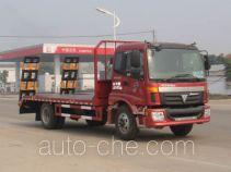 神狐牌HLQ5161TPBB型平板运输车