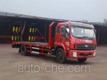 神狐牌HLQ5163TPBB型平板运输车