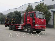 神狐牌HLQ5250TPBCA4型平板运输车