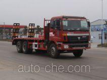 神狐牌HLQ5251TPBB型平板运输车