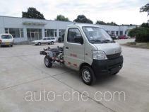 Hualin HLT5020ZXX detachable body garbage truck