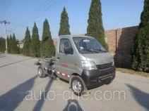 Hualin HLT5021ZXX detachable body garbage truck