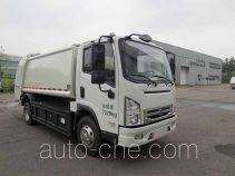 Hualin HLT5075ZYSEV electric garbage compactor truck
