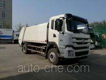 华林牌HLT5160ZYSEV型纯电动压缩式垃圾车