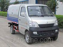 中汽力威牌HLW5020XTY5SC型密闭式桶装垃圾车