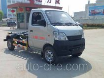 Zhongqi Liwei HLW5020ZXX detachable body garbage truck