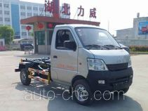 Zhongqi Liwei HLW5021ZXX detachable body garbage truck