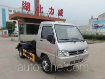 Zhongqi Liwei HLW5031ZXX detachable body garbage truck