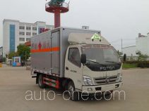Zhongqi Liwei HLW5040XRY5BJ flammable liquid transport van truck