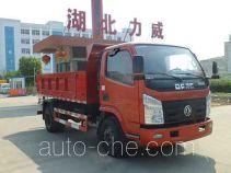 Zhongqi Liwei HLW5040ZLJ dump garbage truck