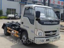 Zhongqi Liwei HLW5040ZXXB detachable body garbage truck