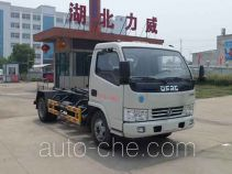 Zhongqi Liwei HLW5070ZXX detachable body garbage truck