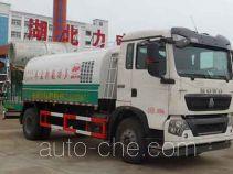 中汽力威牌HLW5164TDY型多功能抑尘车