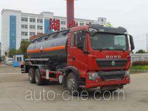 Zhongqi Liwei HLW5250GFWZZ5 corrosive substance transport tank truck