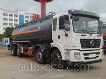 Zhongqi Liwei HLW5311GFW5EQ corrosive substance transport tank truck