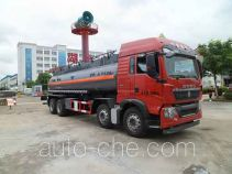 Zhongqi Liwei HLW5320GFWC corrosive substance transport tank truck