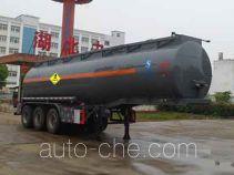 中汽力威牌HLW9400GYW型氧化性物品罐式运输半挂车