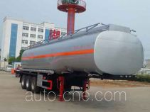 Zhongqi Liwei HLW9401GSY edible oil transport tank trailer