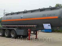 Zhongqi Liwei HLW9402GFW corrosive materials transport tank trailer