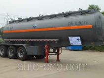 Zhongqi Liwei HLW9403GFW corrosive materials transport tank trailer