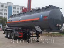 Zhongqi Liwei HLW9406GFW corrosive materials transport tank trailer