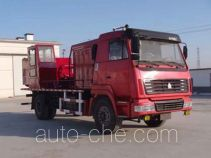 Huanli HLZ5160TGY oilfield fluids tank truck