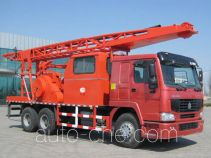 Huanli HLZ5200TCY well servicing rig (workover unit) truck