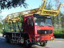 Huanli HLZ5220LF18 vertical mounting derrick truck