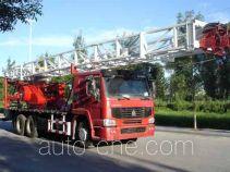Huanli HLZ5250TXJ well-workover rig truck