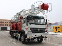 Huanli HLZ5255TXJ well-workover rig truck